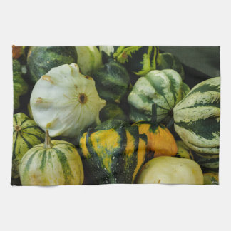 Gourds Galore Tea Towel