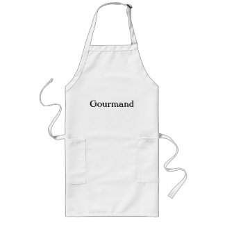 Gourmand long apron