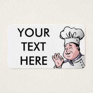 GOURMET CHEF BUSINESS CARD