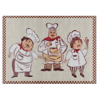 Gourmet Chefs Cutting Board