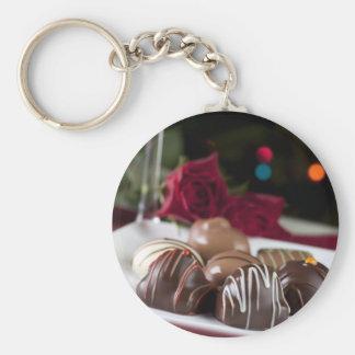 Gourmet Christmas Chocolates Keychain