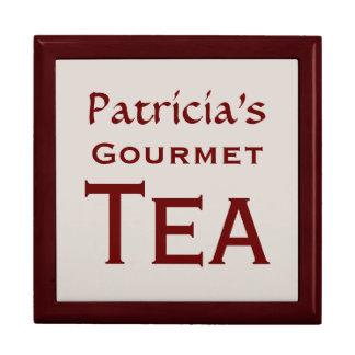Gourmet Tea Box Large Square Gift Box