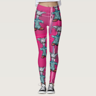 GOUZOUILLE  ALIEN CUTE  MONSTER LEGGINGS