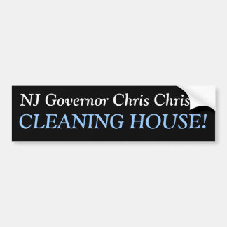 Gov. Christie Bumper Sticker