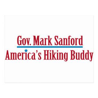 Gov. Mark Sanford Postcard