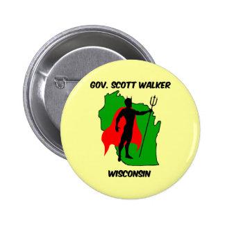 Gov Scott Walker 6 Cm Round Badge