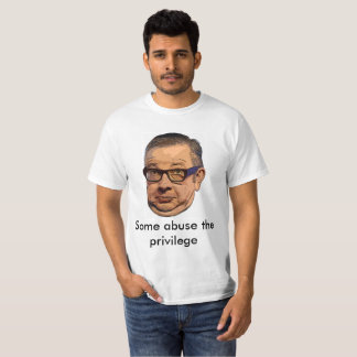 Gove abuses the privilege T-shirt : style 1