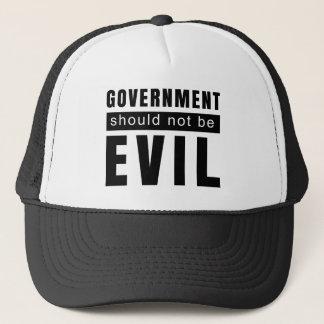 Goverment shouldn't be evil trucker hat