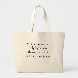Govern By Serving Tote Bags
