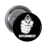 Government Button Pin