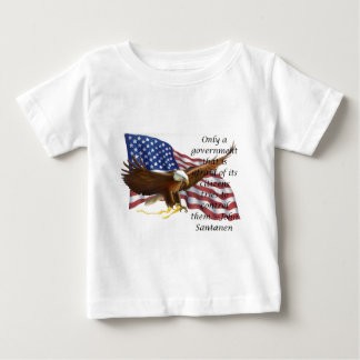 Government Control Flag Statement Baby T-Shirt