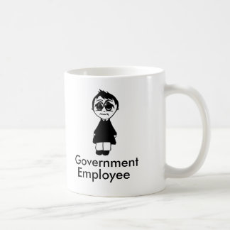 Government employee coffee mug