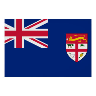 Government Ensign Of Fiji, ethnic Poster