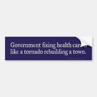 Government Fixing Health Care Bumper Sticker