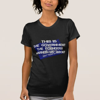 Government Founding Fathers Warne 2.png T-shirts