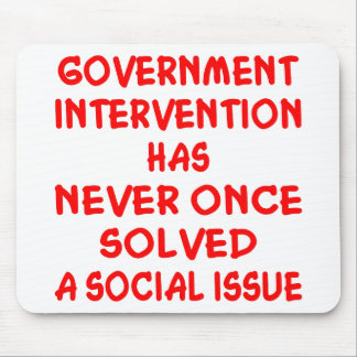 Government Intervention Mouse Pad