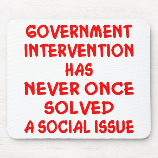 Government Intervention Mousepad