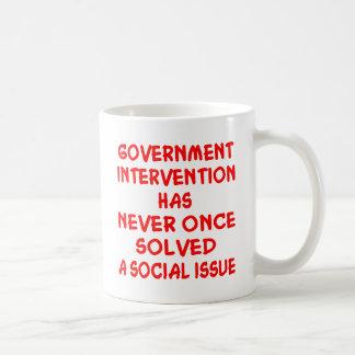 Government Intervention Coffee Mugs