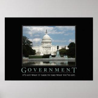 Government Motivational Parody Print
