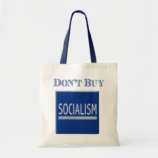 Government Motors - Don't Buy Socialism Canvas Bags