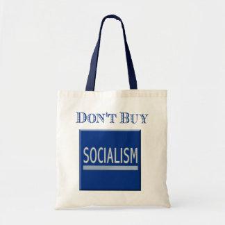 Government Motors - Don't Buy Socialism Budget Tote Bag