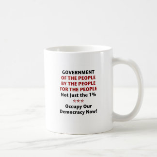 Government Of the People Basic White Mug