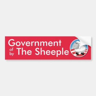 Government of the Sheeple Bumper Sticker