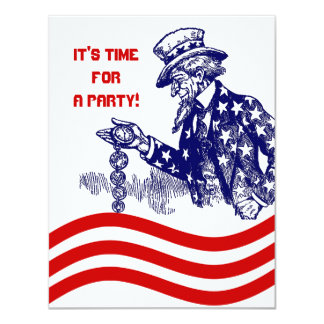 GOVERNMENT OR MILITARY RETIREMENT PARTY INVITATION