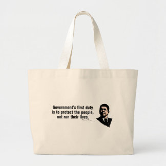 Government s First Duty Canvas Bag
