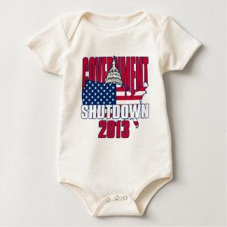 Government Shutdown 2013 Baby Bodysuit