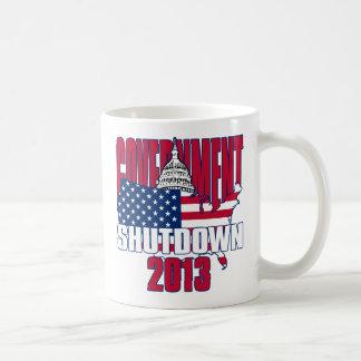 Government Shutdown 2013 Basic White Mug