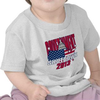Government Shutdown 2013 Tee Shirts