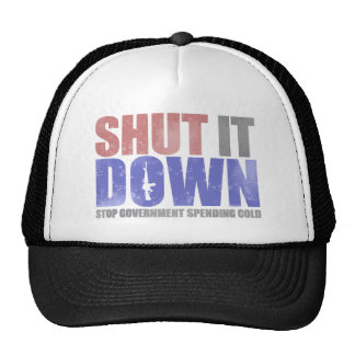 Government Shutdown Mesh Hat