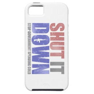 Government Shutdown - Shut It Down iPhone 5 Cover