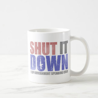 Government Shutdown - Shut It Down Coffee Mug