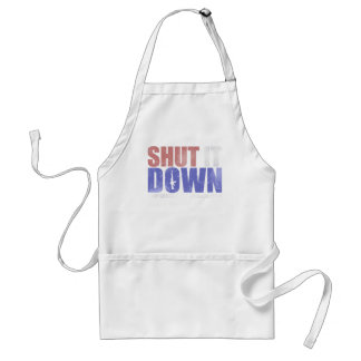 Government Shutdown - Shut It Down Standard Apron