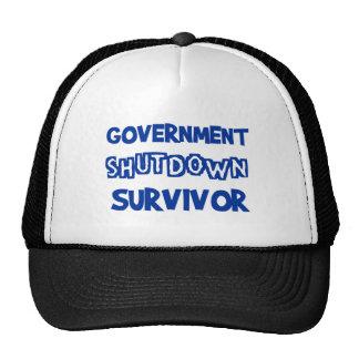 Government Shutdown Survivor Cap