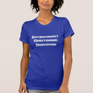 Government Shutdown Survivor T Shirts