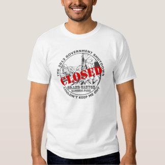 Government Shutdown Vacation - Grand Canyon Tee Shirts