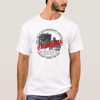 Government Shutdown Vacation - WW2 Memorial T-Shirt