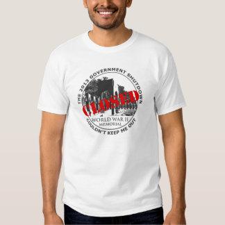 Government Shutdown Vacation - WW2 Memorial Tee Shirts