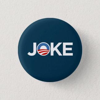Government's a Joke (Dark Blue) 3 Cm Round Badge