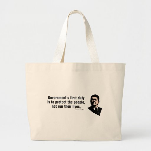 Government's First Duty Canvas Bag