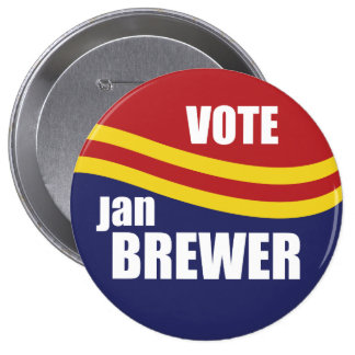 Governor Jan Brewer 2010 Pins