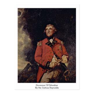Governor Of Gibraltar By Sir Joshua Reynolds Postcard
