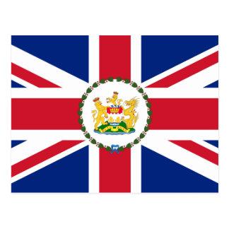 Governor Of Hong Kong, China flag Postcard
