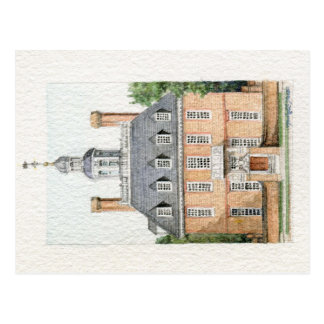 Governor's Palace Postcard
