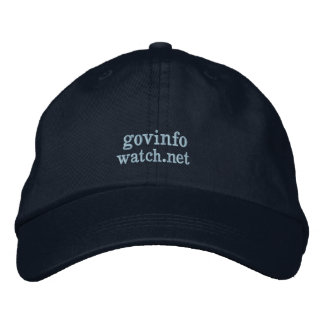 Govinfowatch Embroidered Hat