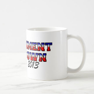 Govt Shutdown Class of 2013 Mug