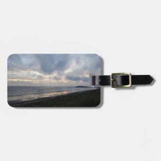 Gower Peninsula Beach Luggage Tag